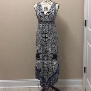 INC International Concepts hi-low maxi dress